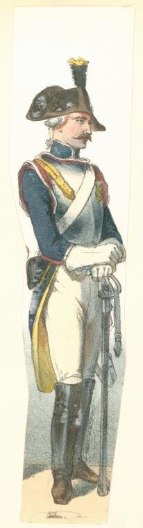 Cuirassier, France, 1794-1795