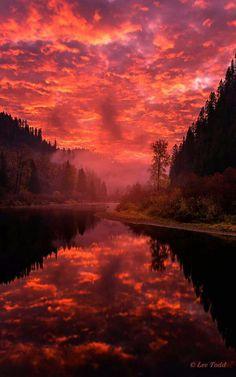 St. Joe River, Idaho, USA