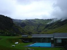 Simply a swimming pool. Iceland.    All I know about this swimming pool is that it is located somewhere in Iceland, and to swim in it you have to drive to the farm next door to ask for a key. If you find it, let me know...