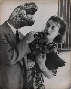 Surrealism from 1950s South America. 'Dream No. 28: Love Without Illusion' 1951, Grete Stern (Photo:  © 2015 Estate of Horacio Coppola/The Museum of Modern Art, New York)