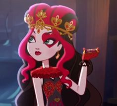 Ever After High Photo: Lizzie Hearts Ever After High, Lizzie Hearts, Queen Of Hearts, 5sos, Queen Alice, Hipster Drawings, Raven Queen, Disney Phone Wallpaper, Cartoon Profile Pictures