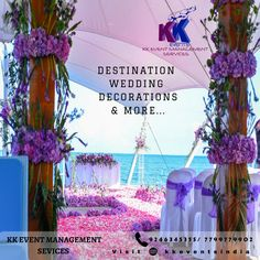 """Dreamed or Vowed Wedding becomes true with a Destination Wedding""  KK EVENTS Organizes With Perfect Plan & Execution to bring your Dream Comes true ...... #DestinationWeddingPlanner #WeddingDecorator Call: 7799779902 / 9246345355"
