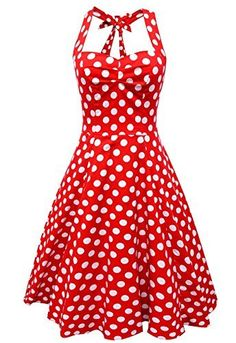 Anni Coco® Femme Robe à Pois Vintage Bretelle Rockabilly Année 50 Swing Robe de Bal, http://www.amazon.fr/dp/B00VE7U828/ref=cm_sw_r_pi_awdl_xs_uxKIybT07EN3N