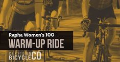 Don't forget our Women's 100 Warm-Up ride this Sunday at from our Greengate shop! It's hour medium pace no-drop ride. The Women's 100 is just over two weeks away! Don't Forget, The 100, Sunday, Bicycle, Posts, Drop, Warm, Movie Posters, Domingo