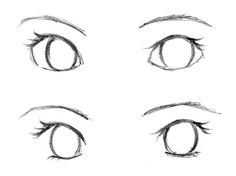 How To Draw Anime Eyes I Can Actually Draw These Wow Dizzy