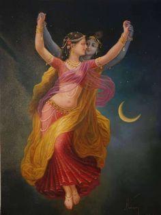 Ideas Painting Love Radha Krishna For 2019 Lord Krishna Images, Radha Krishna Pictures, Radha Krishna Photo, Krishna Photos, Krishna Art, Radhe Krishna, Radha Radha, Lord Krishna Wallpapers, Radha Krishna Wallpaper