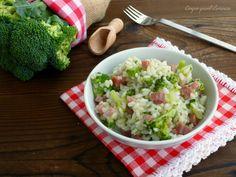 Ilrisotto speck e broccoli è un primo piatto saporito e semplice da realizzare, molto autunnale e, volendo, anche leggero! I broccoli e lo speck sono due