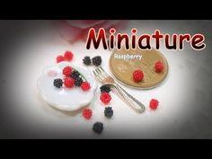 미니어쳐 라즈베리 만들기~! Miniature * Raspberry - YouTube
