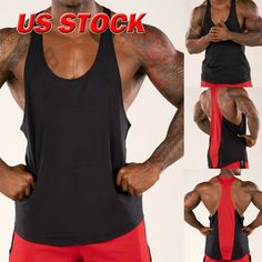 Men/'s Irish MMA Stringer Bodybuilding Workout Y-Back Ireland Muscle Gym Tank Top