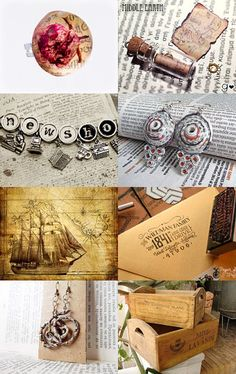 The News by Gabbie on Etsy #etsy #treasury #news #vintage #style