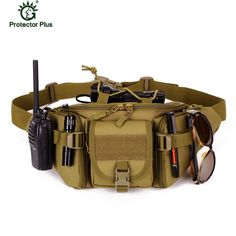 Camping & Hiking Outdoor Wearable Anti-tear Camping Pockets Kit Bag Small Tactical Package Waist Belt Bags Phone Accessory Backpack New To Have A Unique National Style Sports & Entertainment