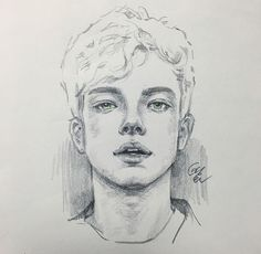 art dessin Concept Art Characters Boy Draw Ideas For 2019 Pencil Art Drawings, Art Drawings Sketches, Realistic Drawings, Cool Drawings, Portrait Sketches, Pencil Portrait, Guy Drawing, Drawing People, Arte Sketchbook