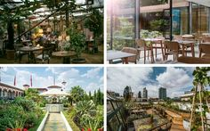Top 30 garden restaurants/cafes - UK