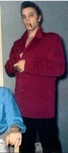 Elvis Presley 1956 Las Vegas