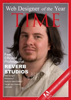 Time magazine cover from scratch in #Photoshop..