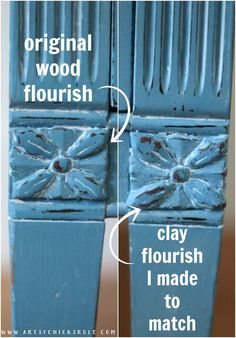 Giverny Chalk Paint Chest Makeover with White Wax - Artsy Chicks Rule® Furniture Repair, Diy Furniture Projects, Recycled Furniture, Furniture Makeover, Chalk Paint Dresser, Blue Chalk Paint, Chalk Paint Furniture, Refurbishing Furniture, Chalk Paint Projects