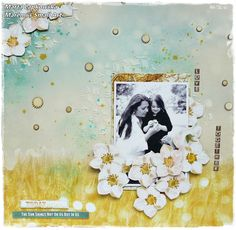 'Love' layout + VIDEO tutorial - Scrapbook.com Aug 2014