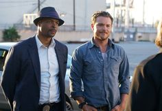 Clayne Crawford and Damon Wayans in the Lethal Weapon TV Series