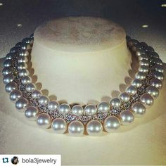 @Remalfala from @carinavorb @bola3jewelry - Pearls