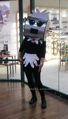 Cool DIY Jetsons Costume: Rosie the Robot Comes Out of Retirement!… Coolest Halloween Costume Contest