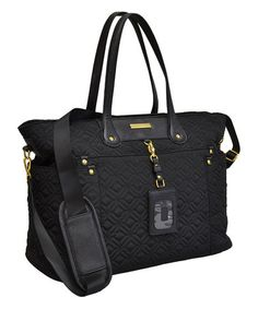 Look what I found on #zulily! Black Travel Light Tote #zulilyfinds Orig $190; Zulily: $42.99! This would make a great gift!