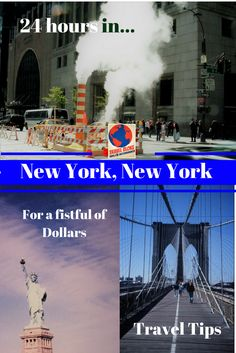 """For a fistful of Dollars: How you can explore the""""Big Apple"""" on a budget: My Travel Tips for your perfect day in New York City."""