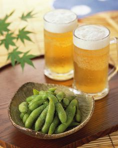 A Perfect Combination, Beer and Edamame / Tokyo Pic
