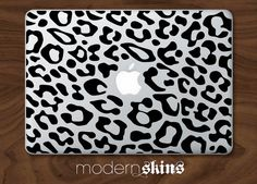 Leopard Laptop Skin  Macbook by modernskins on Etsy, $24.00