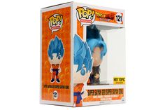 POP! Animation: Dragonball Z - Super Saiyan God Super Saiyan Goku