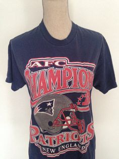 6bf8fbb68 Vintage Patriots AFC Champions Tshirt 1996