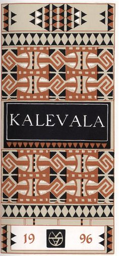 Kalevala - National epic of Finland Bookbinding, Fantasy World, Book Worms, Mythology, Literature, How To Look Better, Helsinki, Tolkien, Book Covers
