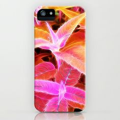 Leaves on Fire iPhone & iPod Case