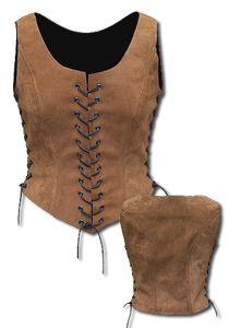leather corset