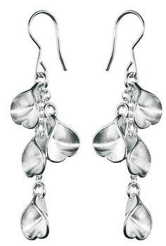 Vesa Nilsson / Kalevala Koru - Eira (silver earrings) Nordicjewel.com