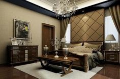 Bedroom I design by 3dmax_vray program