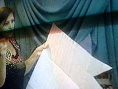 ▶ CENEFA ( CASCADA() 1 DE 5 PART.MPG - YouTube (cómo hacer una cortina en cascada) Window Coverings, Window Treatments, Drapery Designs, Home Curtains, Sewing Techniques, Bed Pillows, Windows, Sonia Franco, Valance Ideas