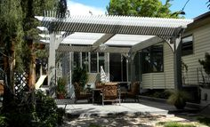 Pergola Attached To House Landscape Projects Landscape