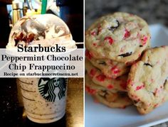 Try a Starbucks Peppermint Chocolate Chip Frappuccino! #StarbucksSecretMenu Recipe here: http://starbuckssecretmenu.net/starbucks-secret-menu-peppermint-chocolate-chip-frappuccino/