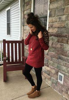 69261d9372b6 Real Mom Style    Leopard   Leggings