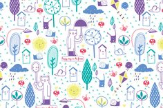 Paulita Ortiz #pattern #illustration