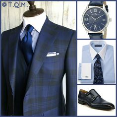 SUNDAY/SPECIAL OCCASION STYLE: Azabu Tailor(Suit)-Lucien Piccard(Watch)-Paul Fredrick(Shirt/Tie Option)-Magnanni Amelio(Shoes)