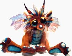 Felted Dragon Kasey Sorsby Tanglewood Thicket