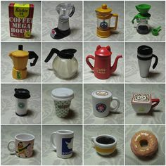 Miniature Coffee Goods (by Re-ment)