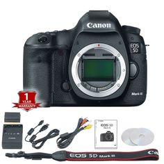 Canon EOS 5D Mark III / MK3 22.3 MP DSLR / Digital Camera (Body Only) - NEW Click on Thumbnail to Enlarge Click Here to check out our other Canon 5D m... #body #only #camera #digital #mark #dslr #canon