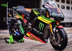 Monster Yamaha YZR M1 2017 Tech3