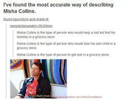 Misha Collins is...