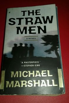 The Straw Men by Michael Marshall paperback book