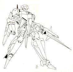 De las páginas de Macross II (manga) Metal Siren