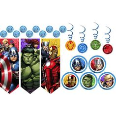 Avengers Decorations