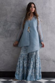Latest Designer Salwar & Sharara For Party 2019 Call/WhatsApp : The post Latest Designer Salwar & Sharara For Party 2019 appeared first on Cotton Diy. Pakistani Fashion Casual, Pakistani Dresses Casual, Indian Gowns Dresses, Pakistani Dress Design, Pakistani Sharara, Dhoti Saree, Sharara Suit, Anarkali, Stylish Dress Designs